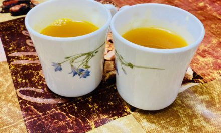 Homemade Turmeric Tea